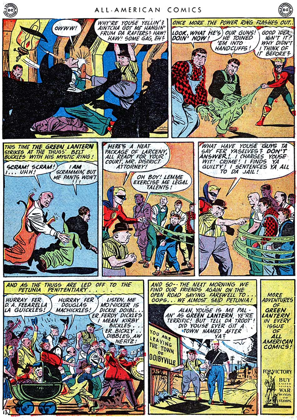 Read online All-American Comics (1939) comic -  Issue #62 - 15