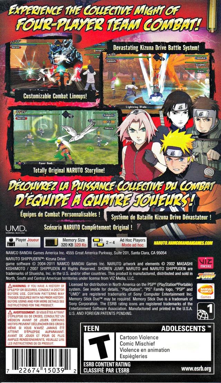 naruto shippuden kizuna drive ppsspp game download