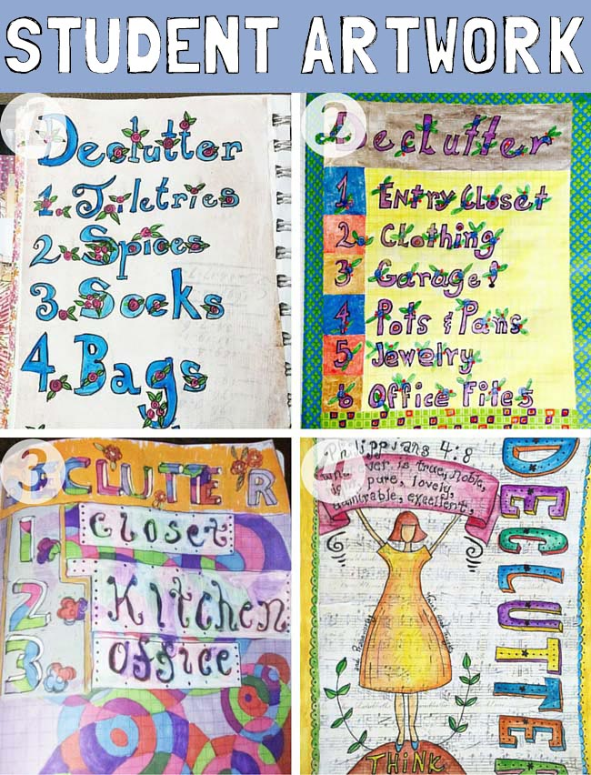 art journal pages http://schulmanart.blogspot.com/2016/03/make-room-for-new-you.html