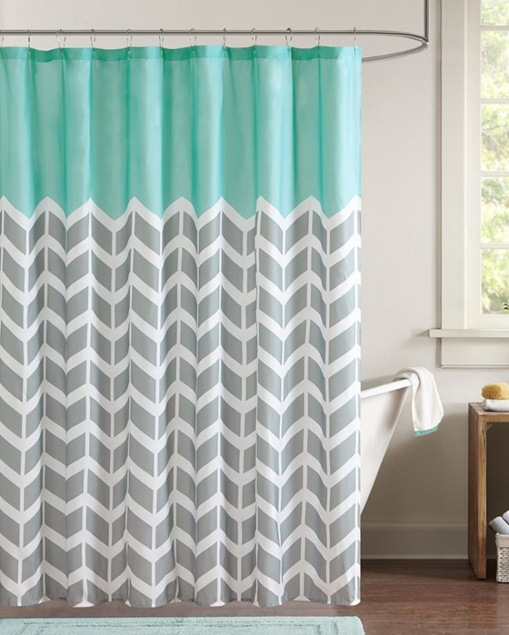 alternative to shower curtain gray