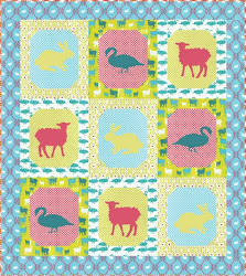 Download the FREE quilt pattern from Robert Kaufman Fabrics