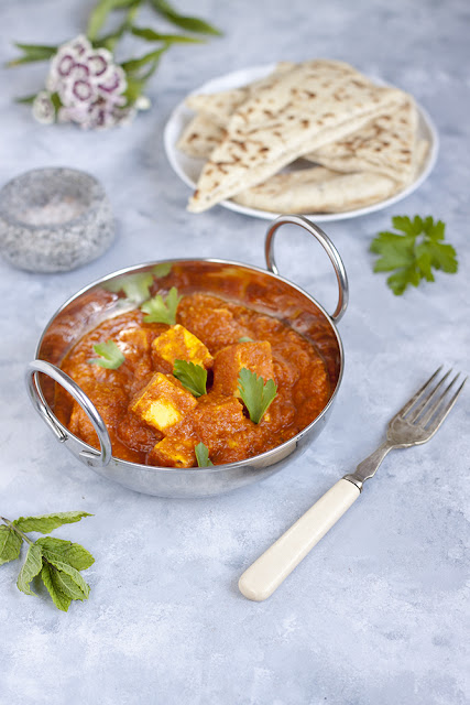 indyjskie curry z serem paneer