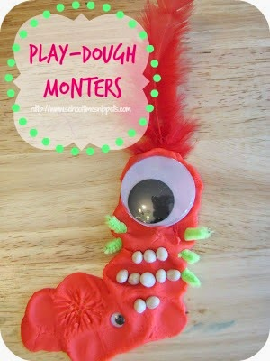fun play dough idea