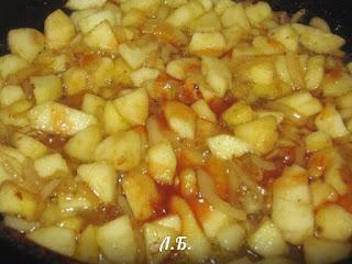 яблочный соус для курицы