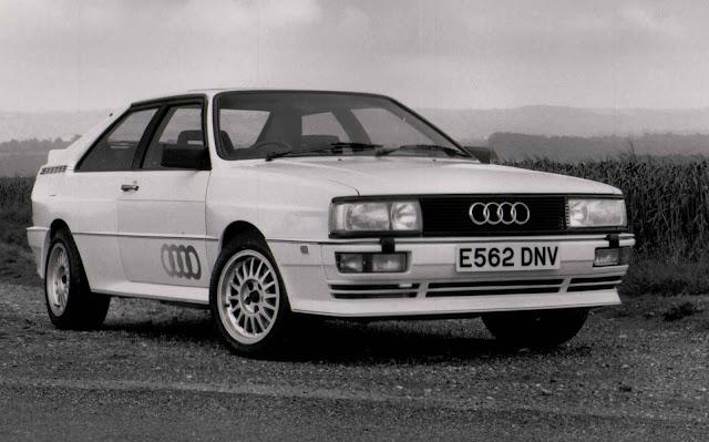 Audi Ur-Quattro - 1988