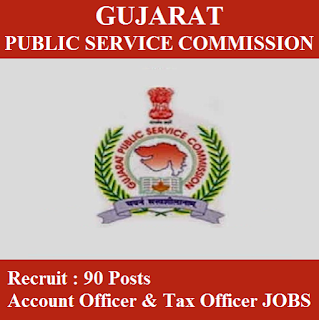 Gujarat Public Service Commission, GPSC, Accounts Officers, Tax Officer, Graduation, PSC, Gujarat, freejobalert, Sarkari Naukri, Latest Jobs, gpsc logo