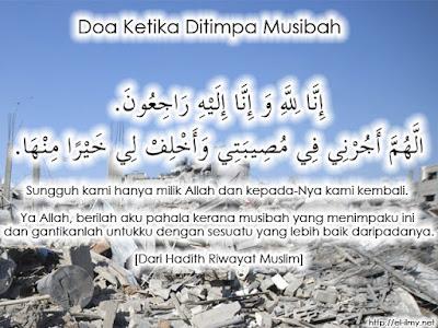Doa Bila Ditimpa Musibah