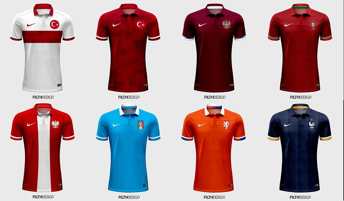 653720015e9 Concepts  Nike National Team Kits by Ozan Dolgundağ