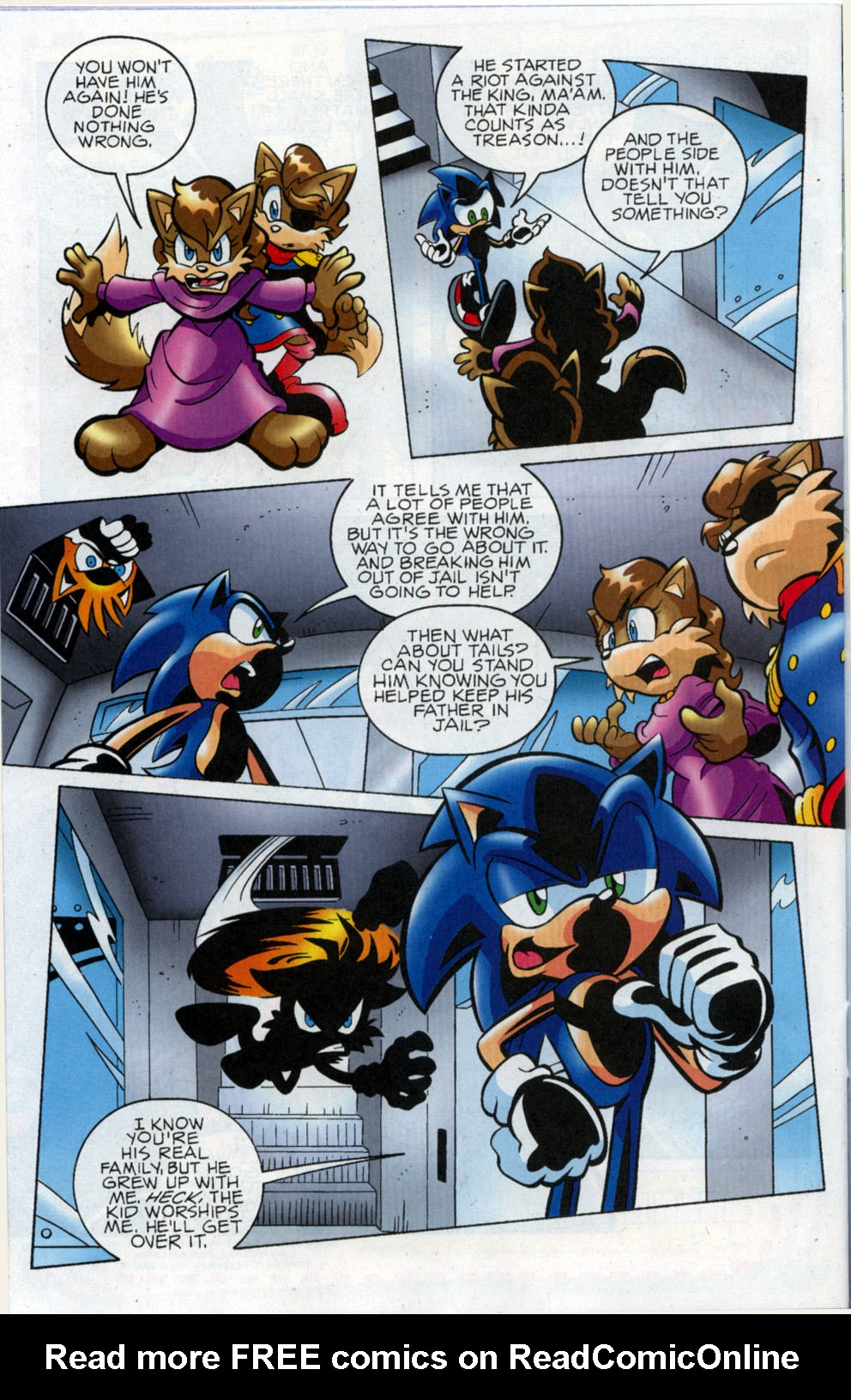 Read online Sonic The Hedgehog comic -  Issue #178 - 15