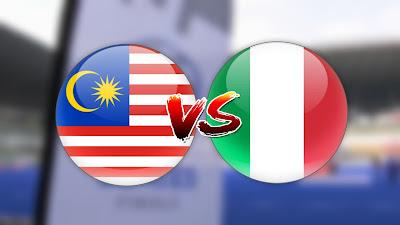 Live Streaming Malaysia vs Itali Siri Hoki Akhir 29.4.2019