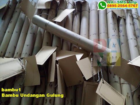Grosir Bambu Undangan Gulung