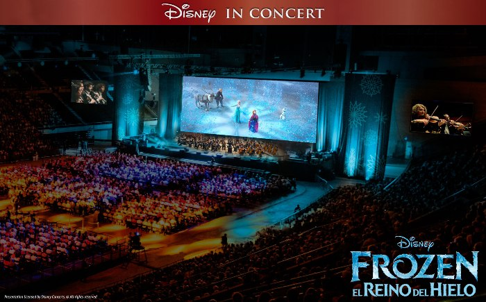 Disney Frozen in Concert
