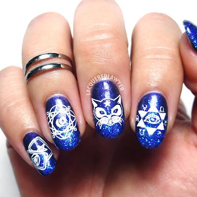 Midnight Magic Nails