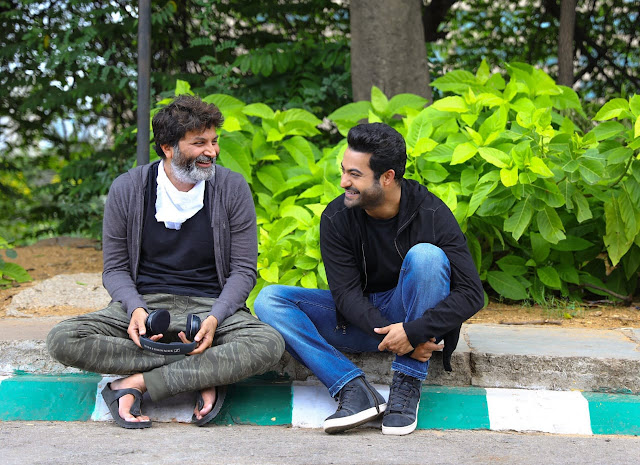 Trivikram and jr Ntr Images
