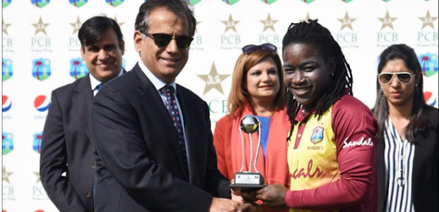 The first T Twenty West Indies women team defeated Pakistan
