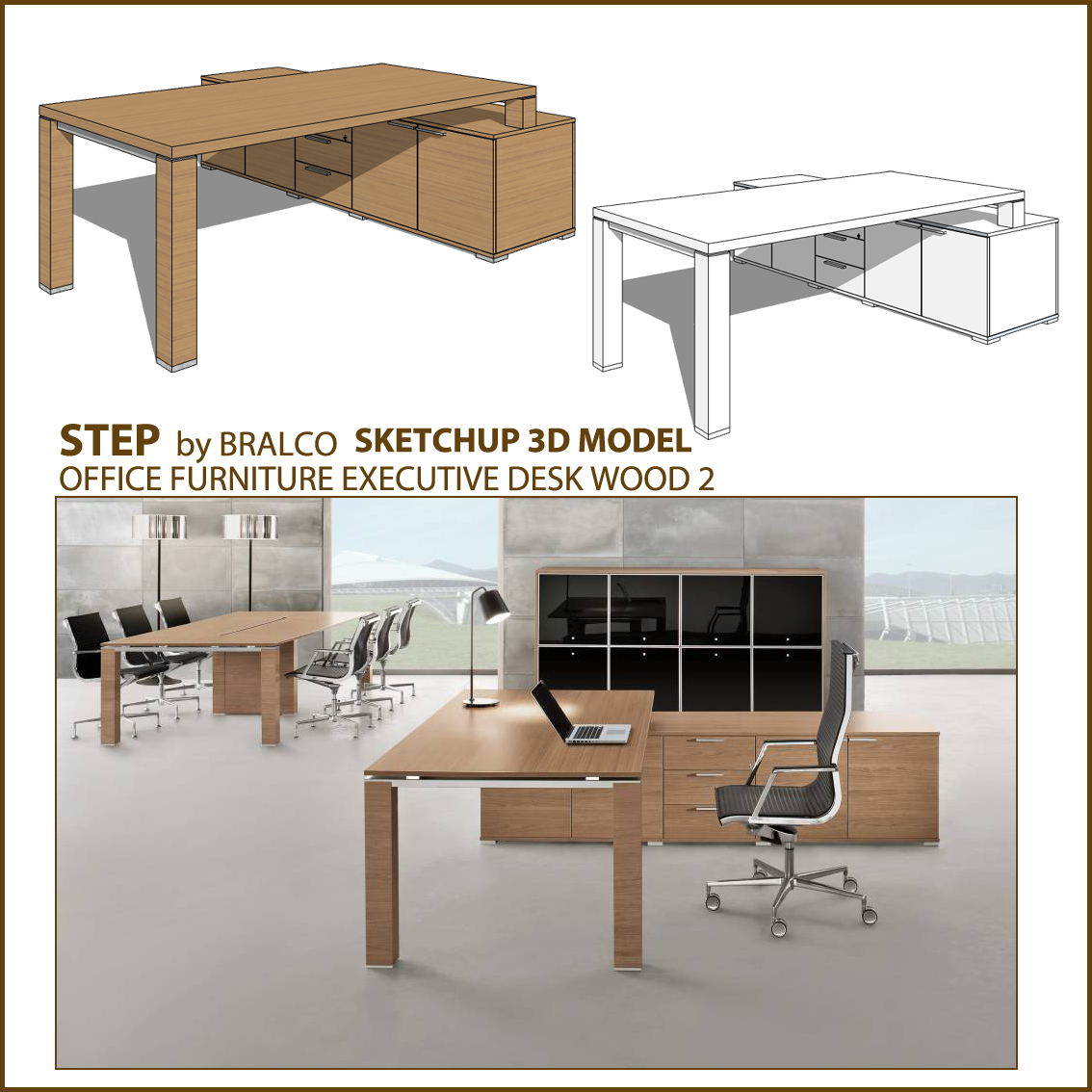 SKETCHUP TEXTURE: FREE SKETCHUP 3D MODEL OFFICE FURNITURE