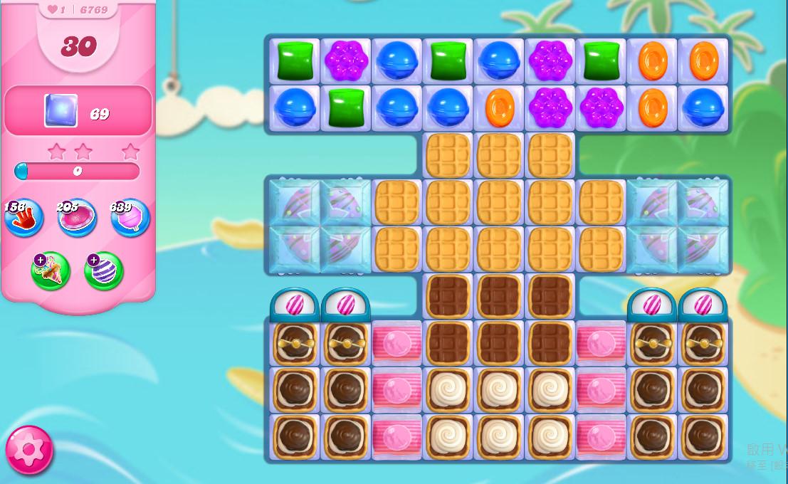 Candy Crush Saga level 6769