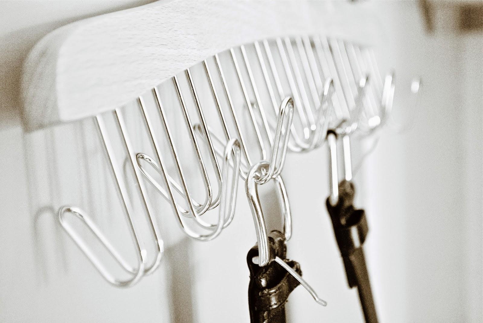 Gürtel im Kleiderschrank aufhängen
