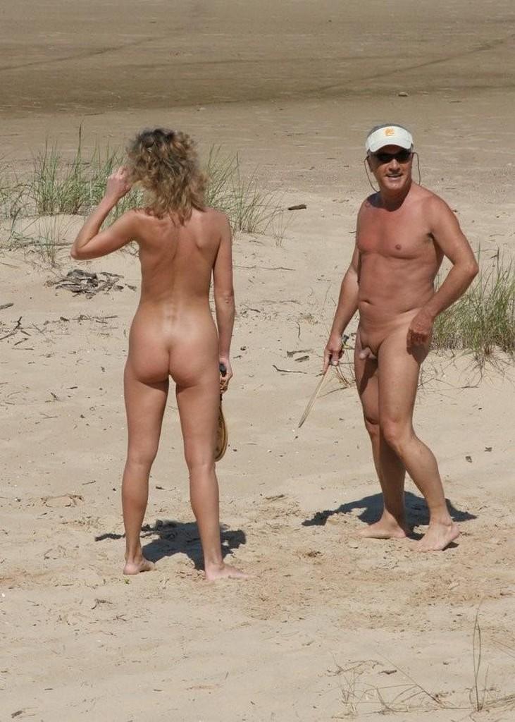 Busty Milf Nude Beach