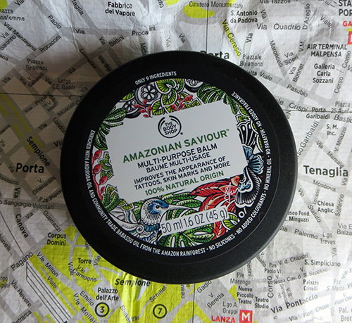 The Body Shop Amazonian Saviour Multi-Purpose Balm ~ #Review