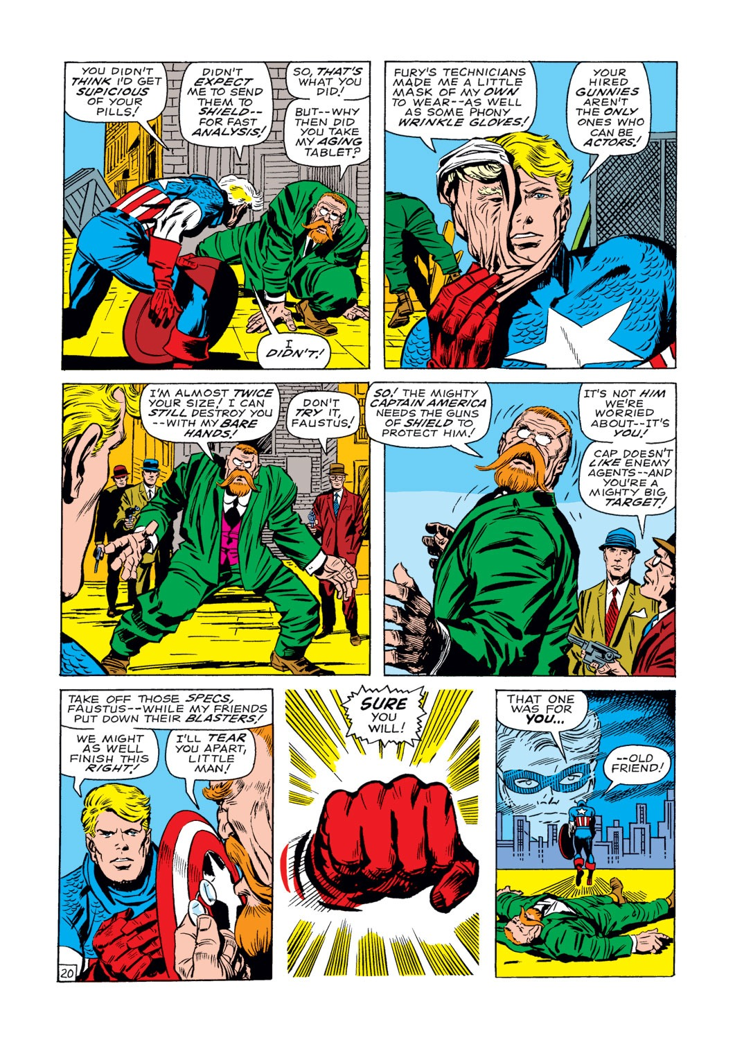 Captain America (1968) Issue #107 #21 - English 21