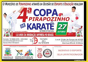 4ª Copa Pirapozinho de Karate