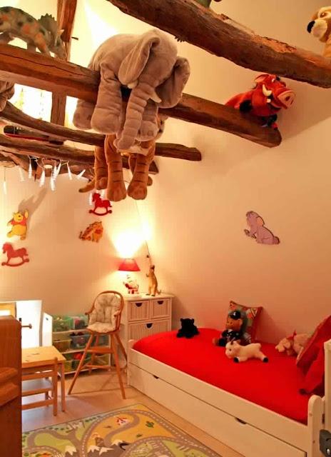 أفكار لترتيب ألعاب غرف الأطفال