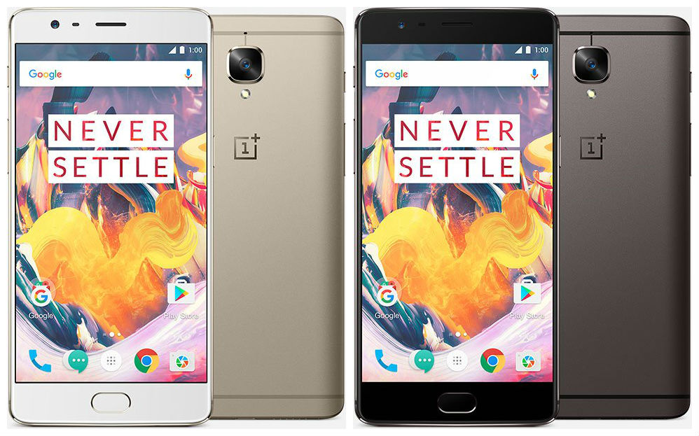 OnePlus 3T Images and Specs Outed Ahead of Unveiling