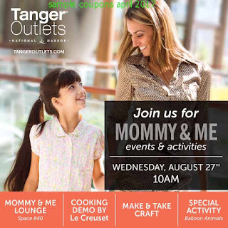 free Tanger Outlet coupons for april 2017