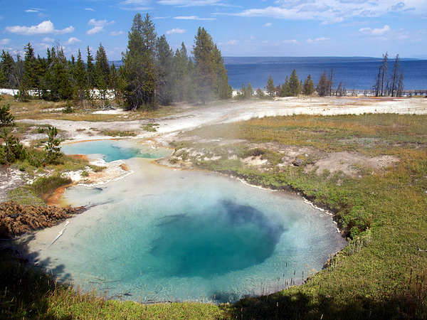 Thumb Paint Pots (Parque Nacional de Yellowstone, Wyoming)