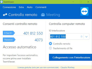 scarica e usa teamviewer