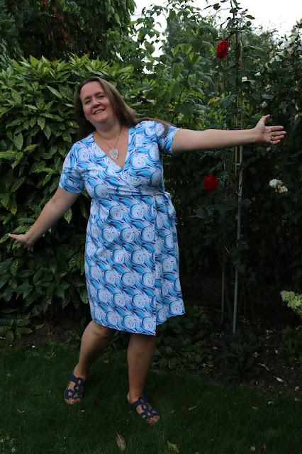 My second Cashmerette Appleton dress | Twice the Fun | doppeltsolustig.blogspot.de