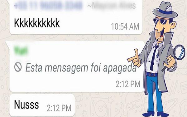 Como ler mensagens apagadas no WhatsApp (Imagem: Montagem/Informe Notícias)