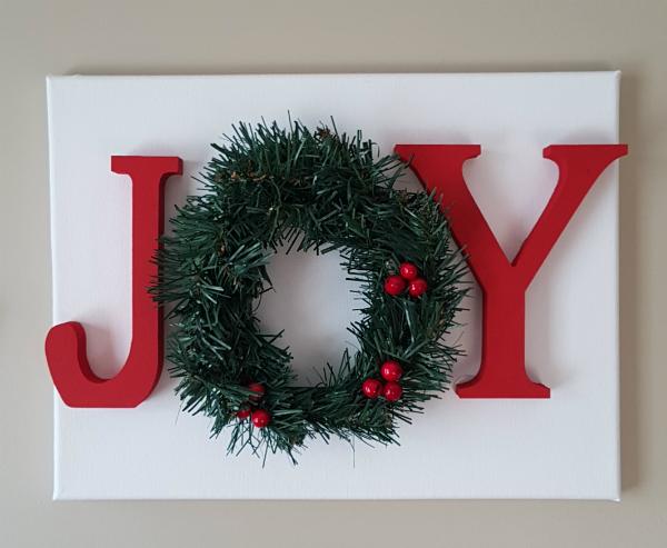Joy sign | DevotedQuilter.blogspot.com