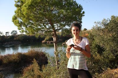 Devolução à Natureza de um cágado-mediterrâneo