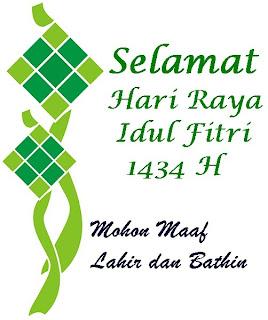 SMS Ucapan Selamat Idul Fitri 1434 H Paling Indah