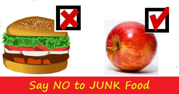 Avoid junk food and enhance dietary choices