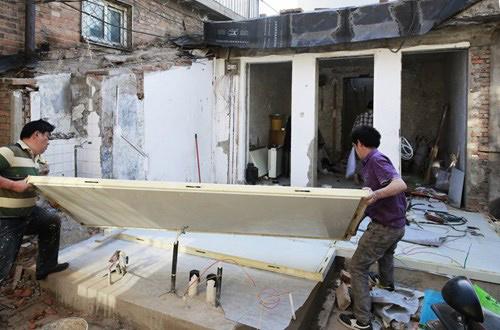 Cực hót : Chỉ với 230 triệu có thể xây được 1 ngồi nhà trong 24 giờ
