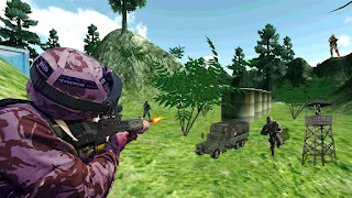 Army Commando Jungle Mission V1.0 MOD APK Terbaru