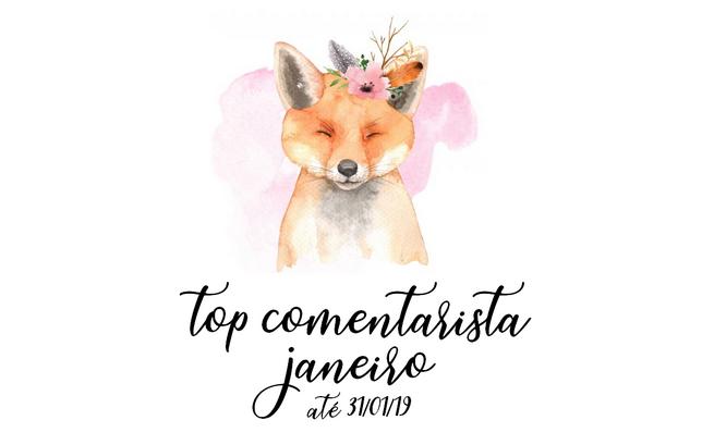 Top Comentarista: Janeiro 2019