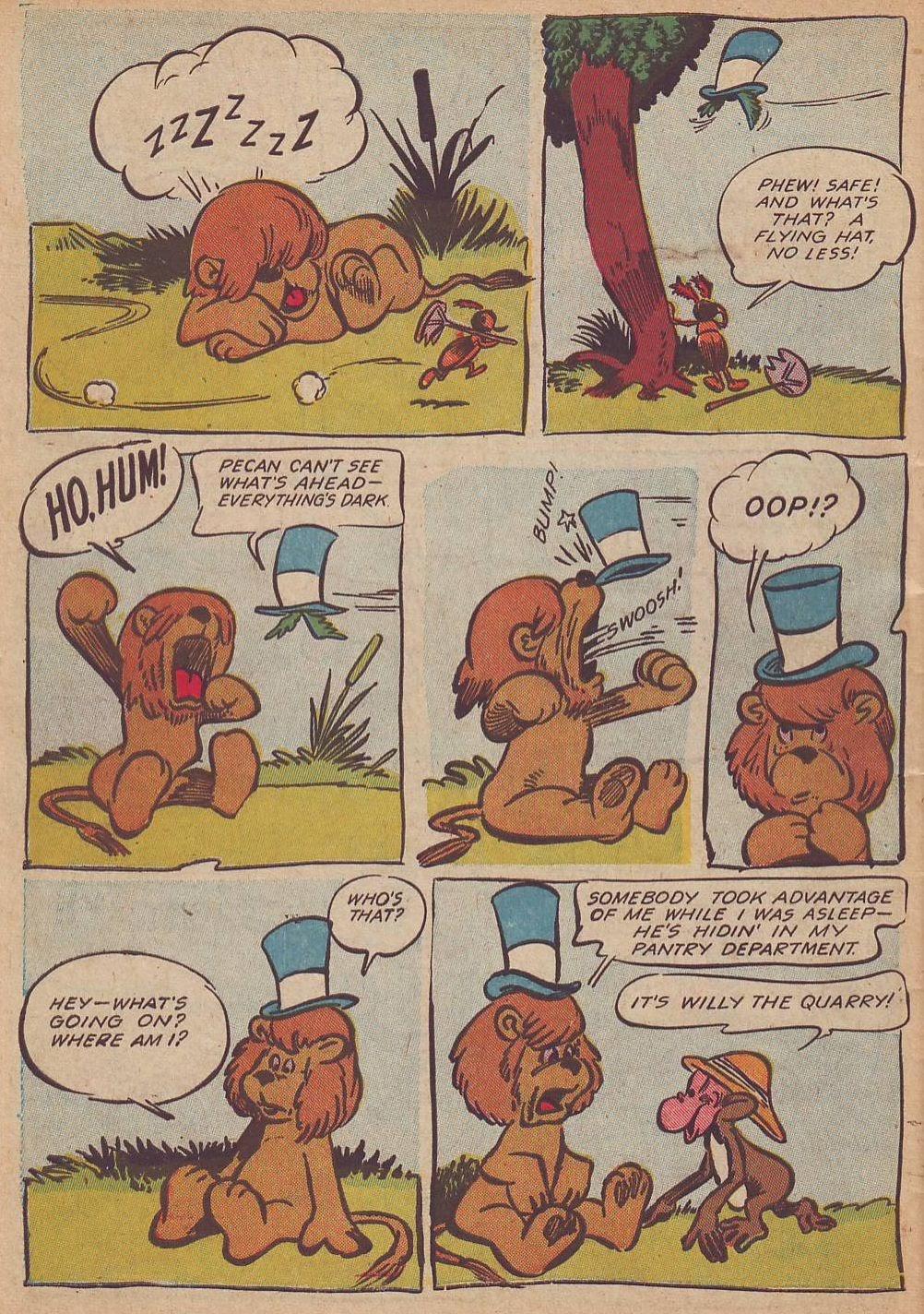 Read online Animal Comics comic -  Issue #23 - 48