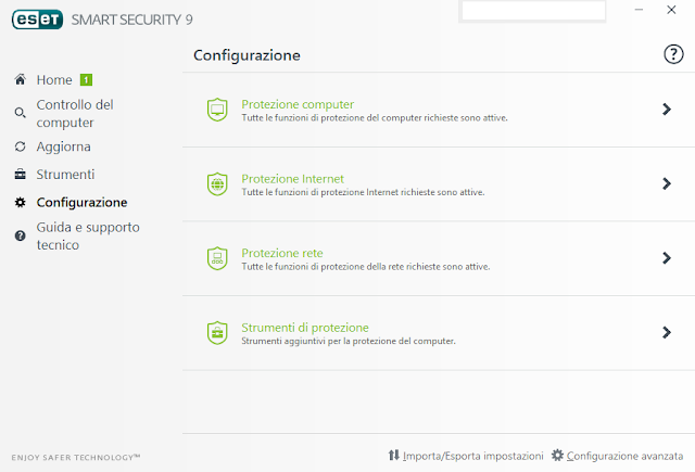 screen02PC - Recensione ESET Multi-Device Security Pack