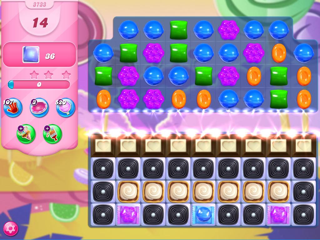 Candy Crush Saga level 3733
