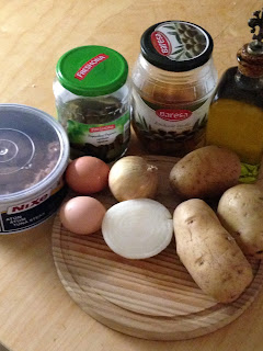 Ensaladilla Rusa, ingredientes