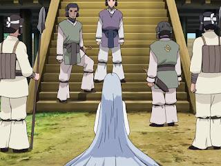 Kaguya de encuentra con Tenji