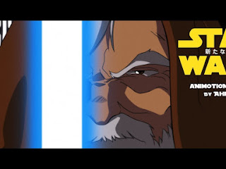 Fã recria trailer de Star Wars ao estilo anime dos anos 80