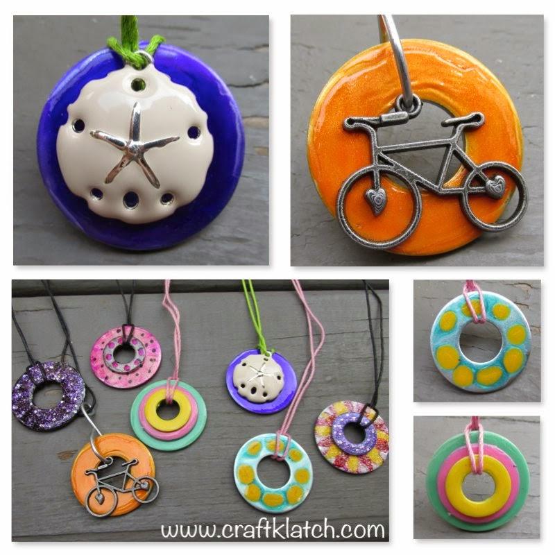 Craft Klatch 174 Diy Nail Polish Washer Necklaces Hardware Store Jewelry