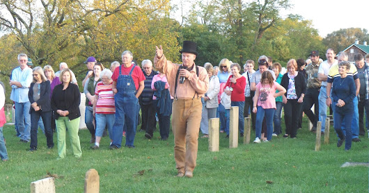 Lively Spirits Gathered at Greenfield's Old Burying Ground on October 9th