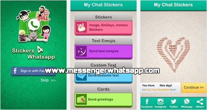 Stickers 4 WhatsApp o Pegatinas para WhatsApp