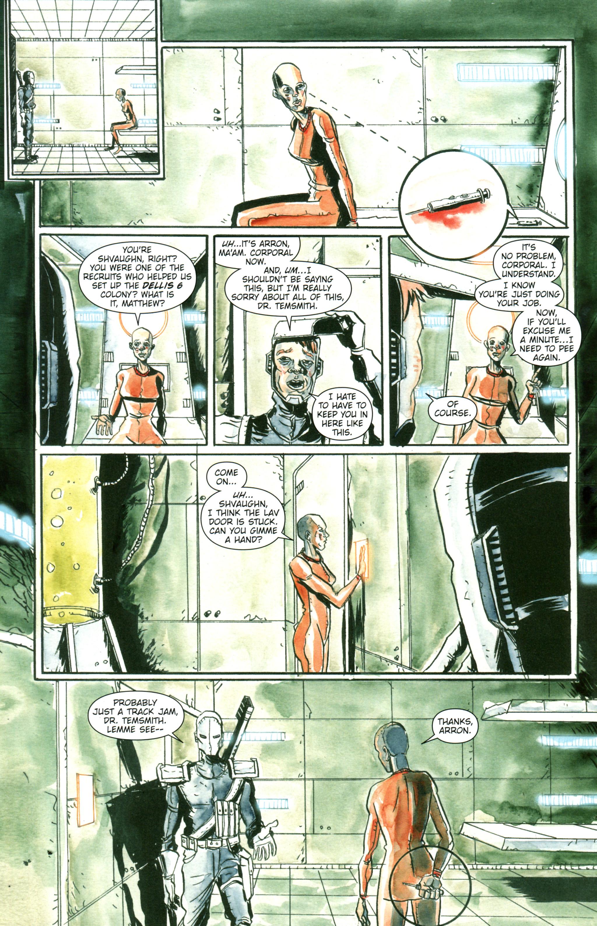 Read online Trillium comic -  Issue #3 - 8